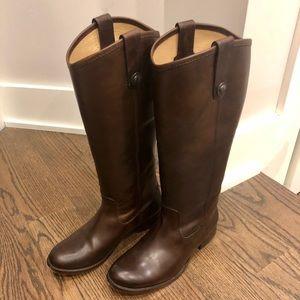 Frye Melissa Button Boots, Size 6.5